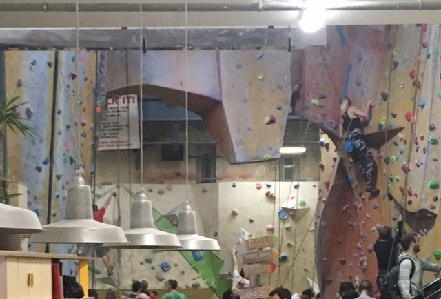 A Life Lesson from a Bouldering Wall